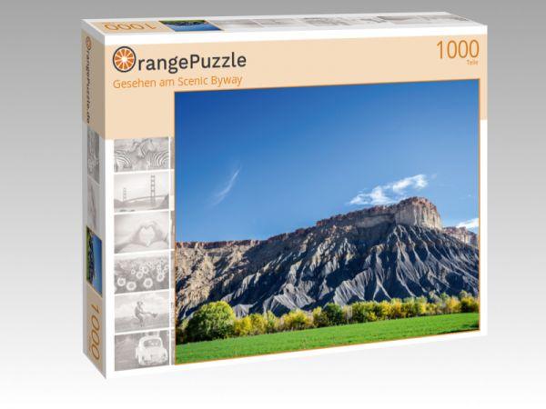 """Puzzle Motiv """"Gesehen am Scenic Byway"""" - Puzzle-Schachtel zu 1000 Teile Puzzle"""