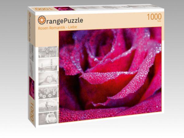 """Puzzle Motiv """"Rosen Romantik - Liebe"""" - Puzzle-Schachtel zu 1000 Teile Puzzle"""