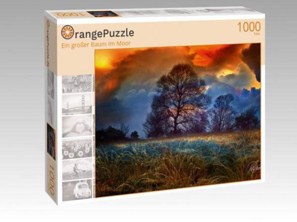 """Puzzle Motiv """"Ein großer Baum im Moor"""" - Puzzle-Schachtel zu 1000 Teile Puzzle"""