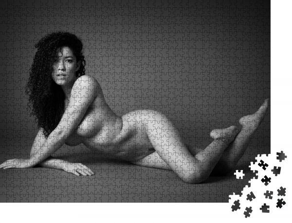 """Puzzle-Motiv """"Kunst Aktfotografie"""" - Puzzle-Schachtel zu 1000 Teile Puzzle"""