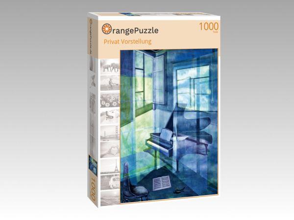 """Puzzle Motiv """"Privat Vorstellung"""" - Puzzle-Schachtel zu 1000 Teile Puzzle"""