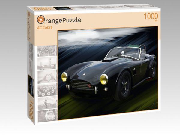 """Puzzle Motiv """"AC Cobra"""" - Puzzle-Schachtel zu 1000 Teile Puzzle"""