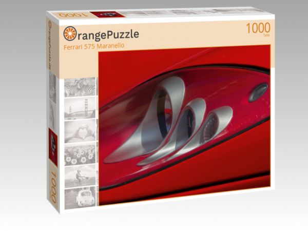 "Puzzle Motiv ""Ferrari 575 Maranello"" - Puzzle-Schachtel zu 1000 Teile Puzzle"