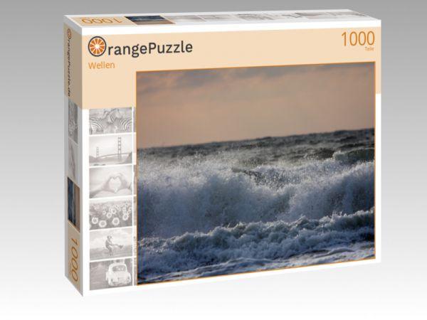 """Puzzle Motiv """"Wellen"""" - Puzzle-Schachtel zu 1000 Teile Puzzle"""