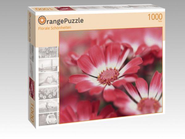 "Puzzle Motiv ""Florale Schönheiten"" - Puzzle-Schachtel zu 1000 Teile Puzzle"