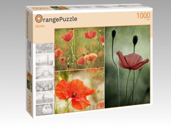 """Puzzle Motiv """"Mohn"""" - Puzzle-Schachtel zu 1000 Teile Puzzle"""