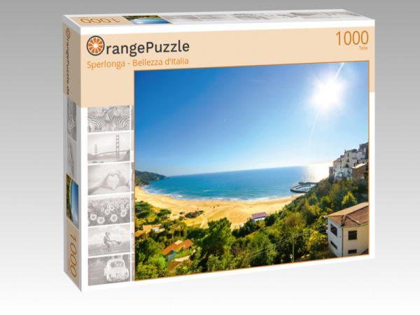 """Puzzle Motiv """"Sperlonga - Bellezza d'Italia"""" - Puzzle-Schachtel zu 1000 Teile Puzzle"""