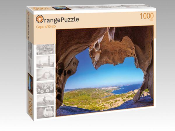 """Puzzle Motiv """"Capo d'Orso"""" - Puzzle-Schachtel zu 1000 Teile Puzzle"""