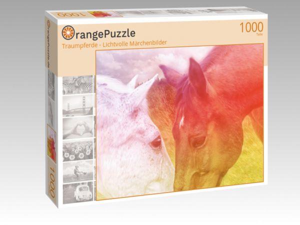 """Puzzle Motiv """"Traumpferde - Lichtvolle Märchenbilder"""" - Puzzle-Schachtel zu 1000 Teile Puzzle"""