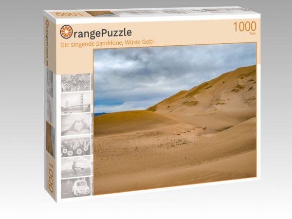 """Puzzle Motiv """"Die singende Sanddüne, Wüste Gobi"""" - Puzzle-Schachtel zu 1000 Teile Puzzle"""
