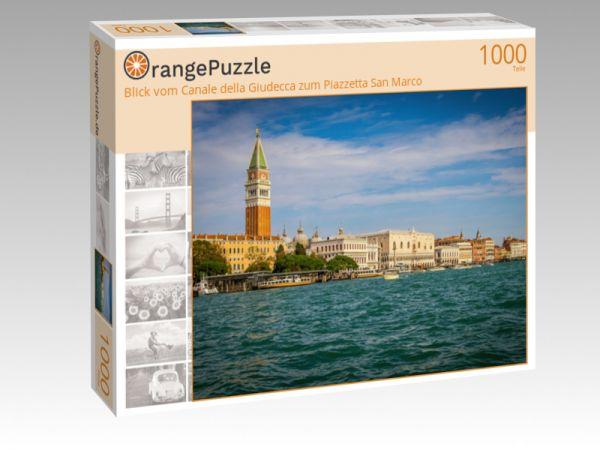 "Puzzle Motiv ""Blick vom Canale della Giudecca zum Piazzetta San Marco"" - Puzzle-Schachtel zu 1000 Teile Puzzle"
