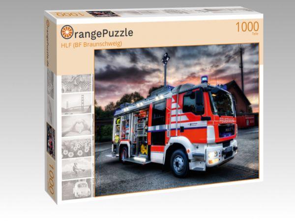 """Puzzle Motiv """"HLF (BF Braunschweig)"""" - Puzzle-Schachtel zu 1000 Teile Puzzle"""