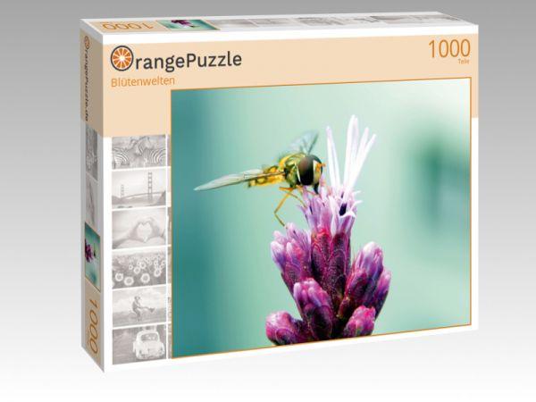 "Puzzle Motiv ""Blütenwelten"" - Puzzle-Schachtel zu 1000 Teile Puzzle"