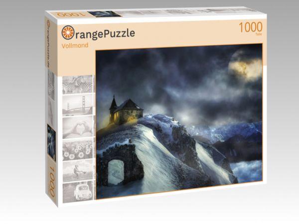 """Puzzle Motiv """"Vollmond"""" - Puzzle-Schachtel zu 1000 Teile Puzzle"""