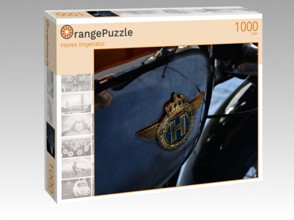 "Puzzle Motiv ""Horex Imperator"" - Puzzle-Schachtel zu 1000 Teile Puzzle"