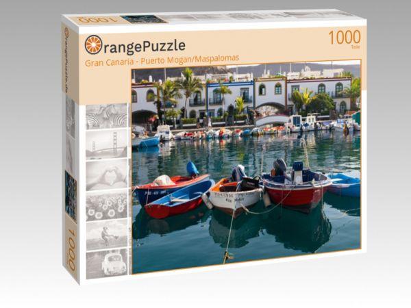 "Puzzle Motiv ""Gran Canaria - Puerto Mogan/Maspalomas"" - Puzzle-Schachtel zu 1000 Teile Puzzle"
