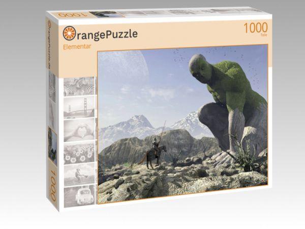 """Puzzle Motiv """"Elementar"""" - Puzzle-Schachtel zu 1000 Teile Puzzle"""