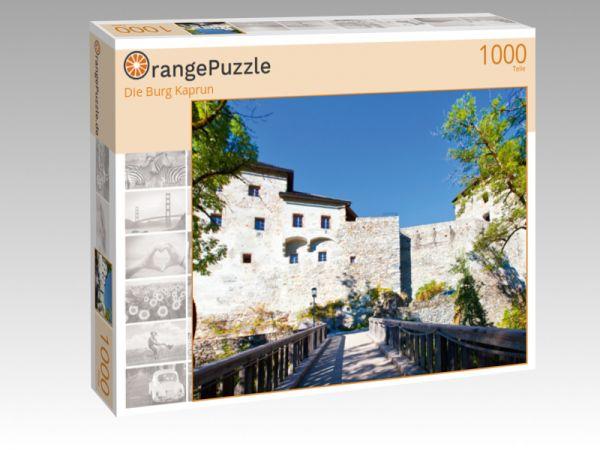 """Puzzle Motiv """"Die Burg Kaprun"""" - Puzzle-Schachtel zu 1000 Teile Puzzle"""