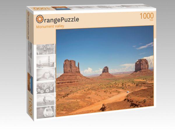 """Puzzle Motiv """"Monument Valley"""" - Puzzle-Schachtel zu 1000 Teile Puzzle"""