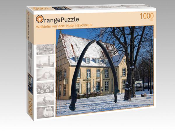 "Puzzle Motiv ""Walkiefer vor dem Hotel Havenhaus"" - Puzzle-Schachtel zu 1000 Teile Puzzle"