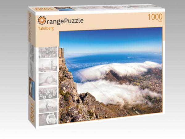 """Puzzle Motiv """"Tafelberg"""" - Puzzle-Schachtel zu 1000 Teile Puzzle"""