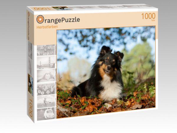 """Puzzle Motiv """"Herbstfarben"""" - Puzzle-Schachtel zu 1000 Teile Puzzle"""