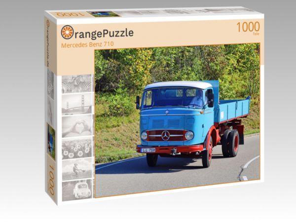 """Puzzle Motiv """"Mercedes Benz 710"""" - Puzzle-Schachtel zu 1000 Teile Puzzle"""