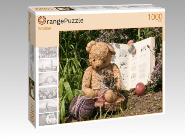 "Puzzle Motiv ""Wollbär"" - Puzzle-Schachtel zu 1000 Teile Puzzle"