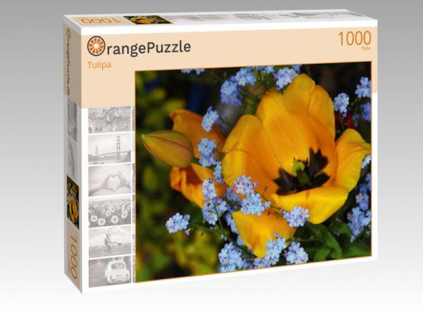 """Puzzle Motiv """"Tulipa"""" - Puzzle-Schachtel zu 1000 Teile Puzzle"""