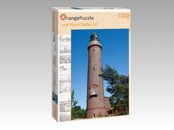 """Puzzle Motiv """"Leuchtturm Darßer Ort"""" - Puzzle-Schachtel zu 1000 Teile Puzzle"""