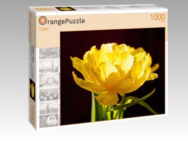 """Puzzle Motiv """"Tulpe"""" - Puzzle-Schachtel zu 1000 Teile Puzzle"""