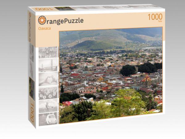 """Puzzle Motiv """"Oaxaca"""" - Puzzle-Schachtel zu 1000 Teile Puzzle"""