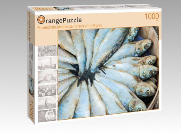 """Puzzle Motiv """"Emotionale Momente: Frisch vom Markt."""" - Puzzle-Schachtel zu 1000 Teile Puzzle"""
