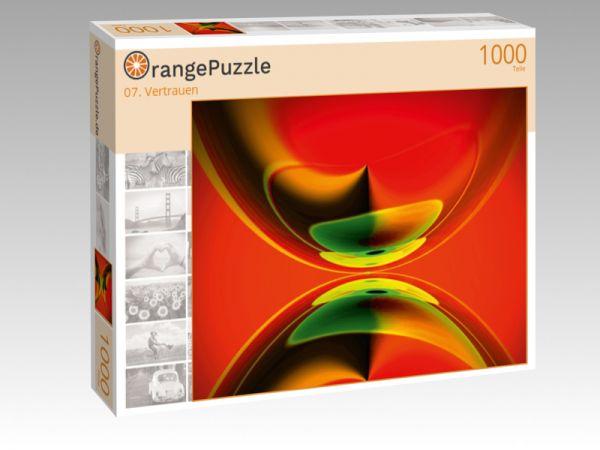 "Puzzle Motiv ""07. Vertrauen"" - Puzzle-Schachtel zu 1000 Teile Puzzle"