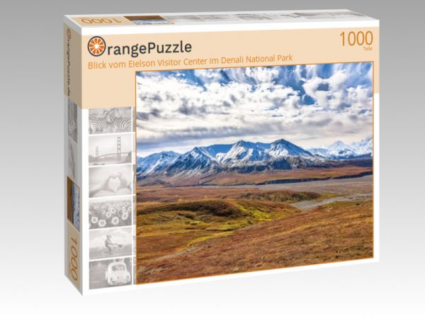 "Puzzle Motiv ""Blick vom Eielson Visitor Center im Denali National Park"" - Puzzle-Schachtel zu 1000 Teile Puzzle"