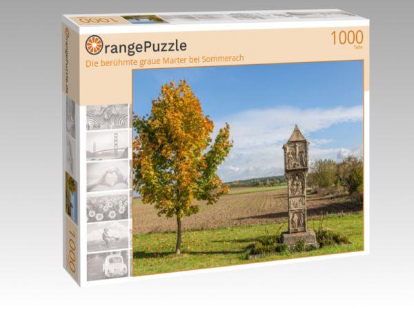 "Puzzle Motiv ""Die berühmte graue Marter bei Sommerach"" - Puzzle-Schachtel zu 1000 Teile Puzzle"