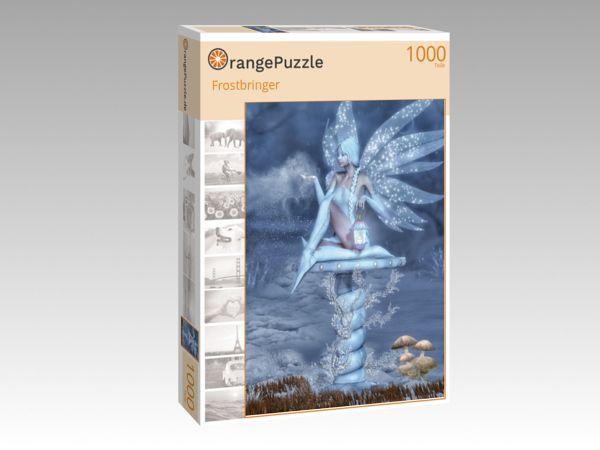 """Puzzle Motiv """"Frostbringer"""" - Puzzle-Schachtel zu 1000 Teile Puzzle"""