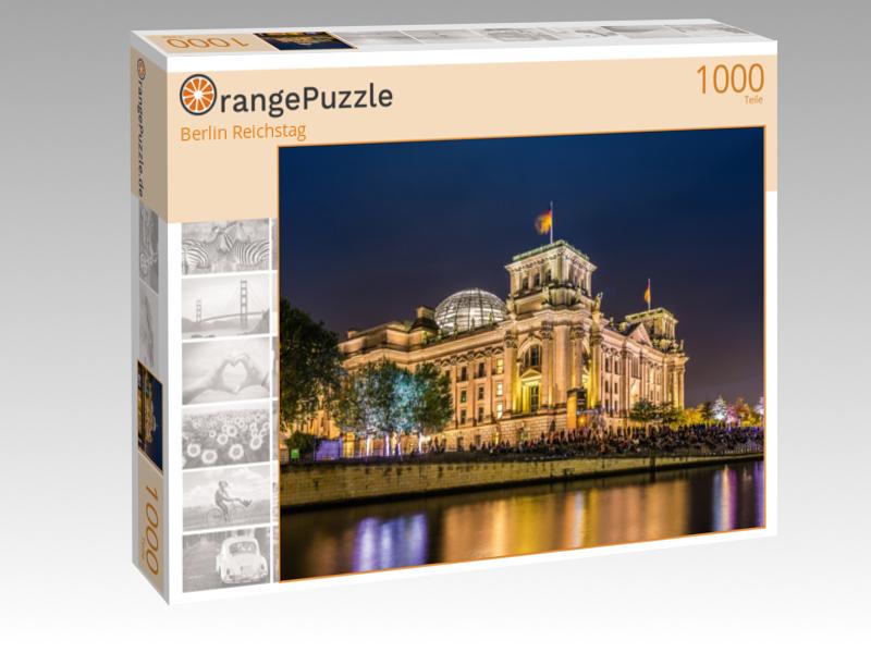 Puzzle Motiv Berliner Reichstag