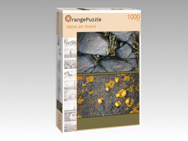 """Puzzle Motiv """"Steine am Strand"""" - Puzzle-Schachtel zu 1000 Teile Puzzle"""