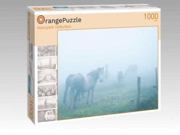 """Puzzle Motiv """"Naturpark S'Albufera"""" - Puzzle-Schachtel zu 1000 Teile Puzzle"""