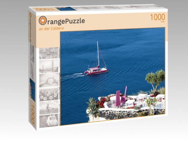 """Puzzle Motiv """"an der Caldera"""" - Puzzle-Schachtel zu 1000 Teile Puzzle"""