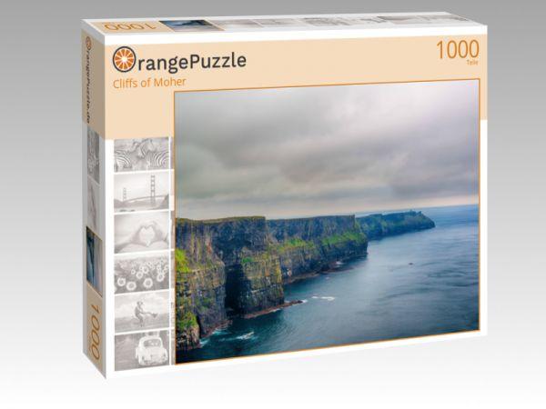 """Puzzle Motiv """"Cliffs of Moher"""" - Puzzle-Schachtel zu 1000 Teile Puzzle"""