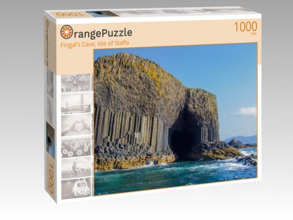 """Puzzle Motiv """"Fingal's Cave, Isle of Staffa"""" - Puzzle-Schachtel zu 1000 Teile Puzzle"""