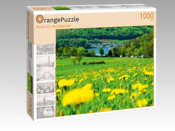 """Puzzle Motiv """"Rund um den Edersee"""" - Puzzle-Schachtel zu 1000 Teile Puzzle"""