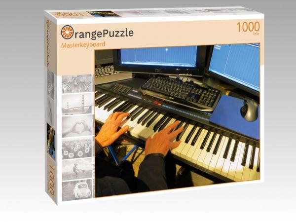 """Puzzle Motiv """"Masterkeyboard"""" - Puzzle-Schachtel zu 1000 Teile Puzzle"""