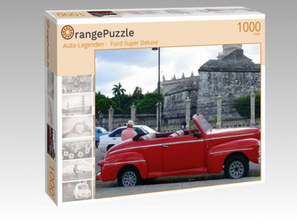 """Puzzle Motiv """""""" Auto-Legenden -  Ford Super Deluxe"""""""" - Puzzle-Schachtel zu 1000 Teile Puzzle"""