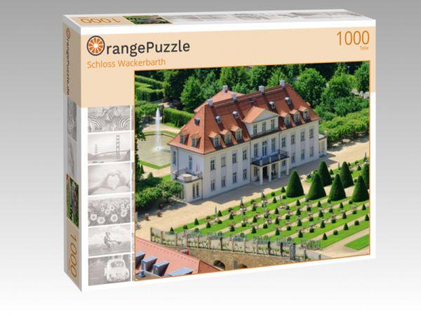 """Puzzle Motiv """"Schloss Wackerbarth"""" - Puzzle-Schachtel zu 1000 Teile Puzzle"""