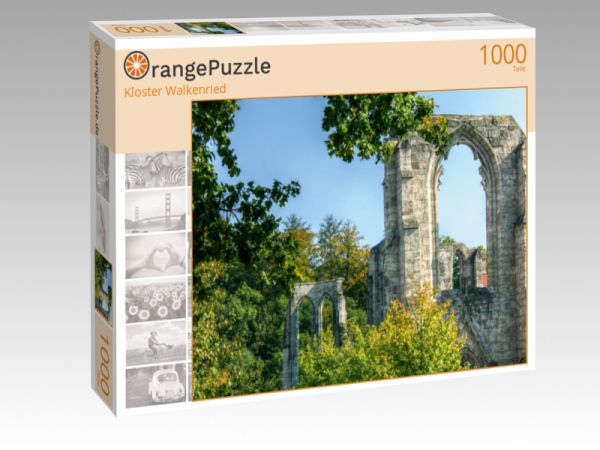 "Puzzle Motiv ""Kloster Walkenried"" - Puzzle-Schachtel zu 1000 Teile Puzzle"