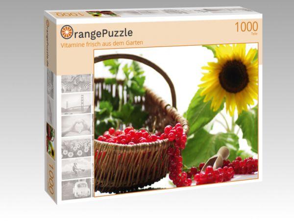 """Puzzle Motiv """"Vitamine frisch aus dem Garten"""" - Puzzle-Schachtel zu 1000 Teile Puzzle"""
