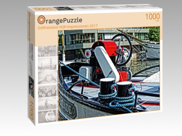 "Puzzle Motiv ""Ostfriesland HDR-Impressionen 2017"" - Puzzle-Schachtel zu 1000 Teile Puzzle"